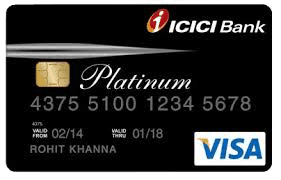 icici platinum credit card