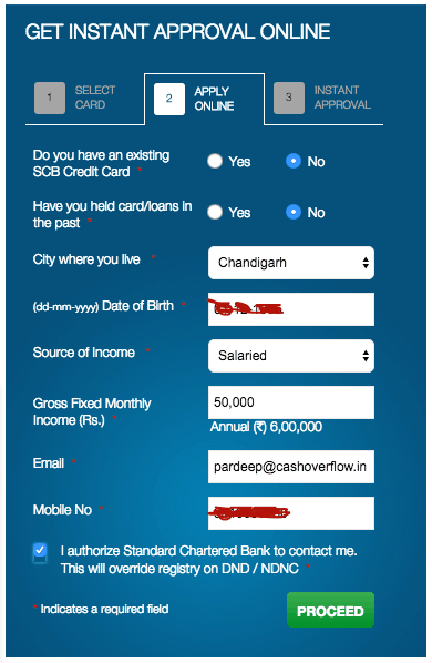 Standard Chartered Manhattan Application Process 1