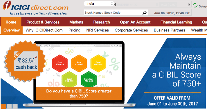 icici direct demat trading account