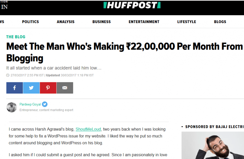 Finding-Paid-Freelance-Writing-Gigs-Through-GuestPosting-HuffingtonPost