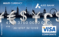 How to activate axis bank forex card