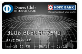 HDFC Diners Club Black