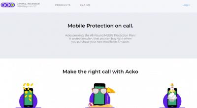 Acko Mobile Insurance