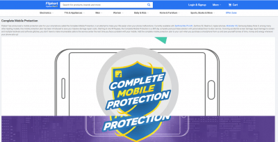Flipkart Complete Mobile Insurance