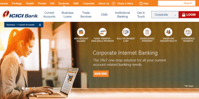 ICICI Bank Current Account