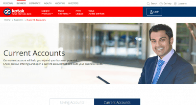 Kotak Mahindra Bank Current Account