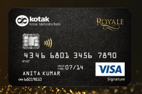 Kotak Royale Signature Credit Card
