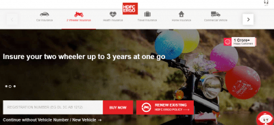 HDFC ERGO Two Wheeler Insurance