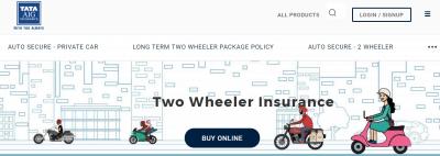 TATA AIG Two Wheeler Insurance