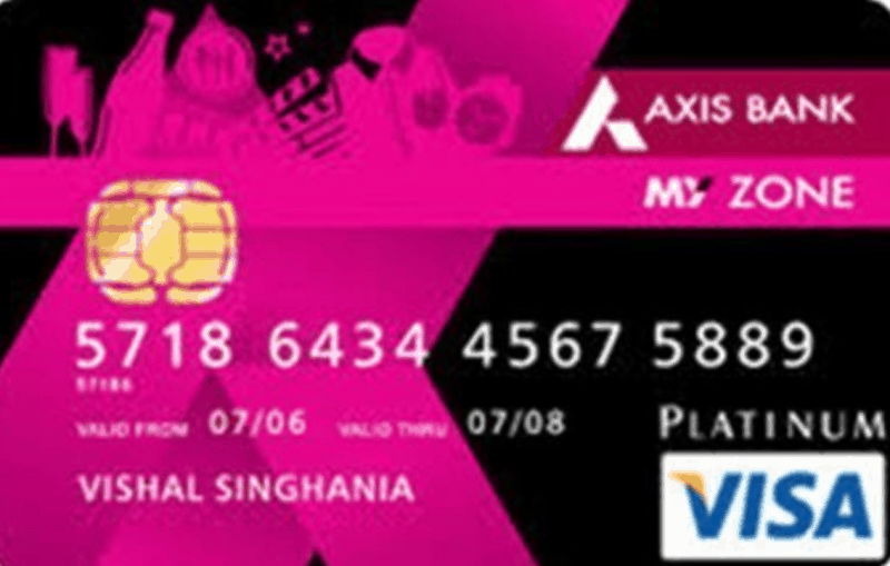 Axis My Zone Credit Card