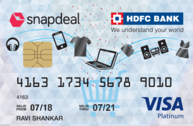 HDFC Snapdeal Credit Card