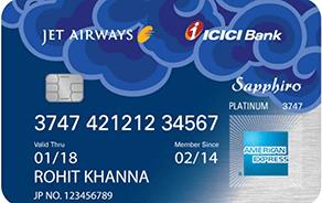 ICICI JetAirways Sapphiro (Amex)