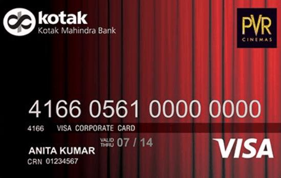 Kotak PVR Gold Credit Card