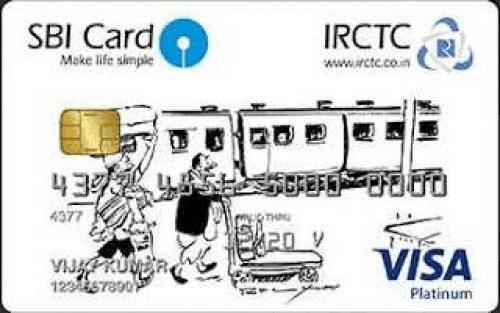 SBI IRCTC Credit Card