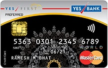 Yes Bank Preferred Credit Card